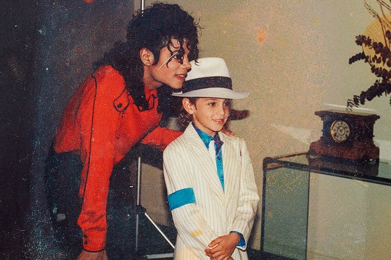 Leaving Neverland s Michaelem Jacksonem